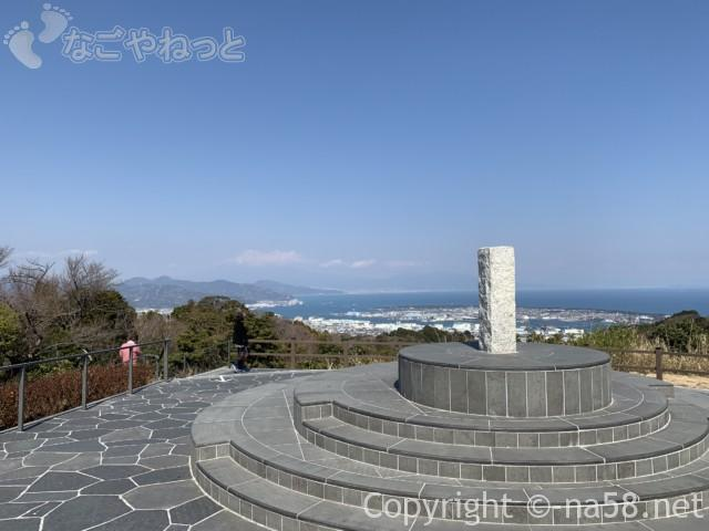 日本平夢テラス庭園からの展望風景