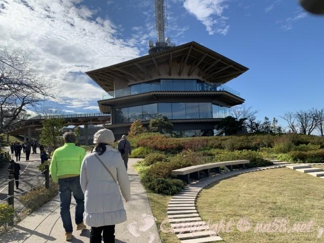 日本平夢テラス(静岡県静岡市)全景外観