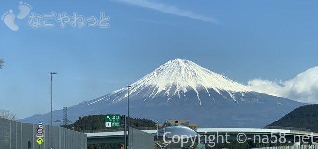 富士山が見える高速ドライブ・運転注意!新清水から15分間のワクワク