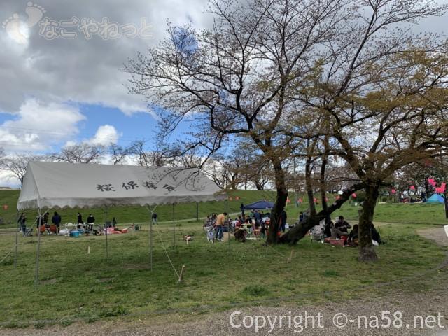 蛇池公園(名古屋市西区)の花見 保存会