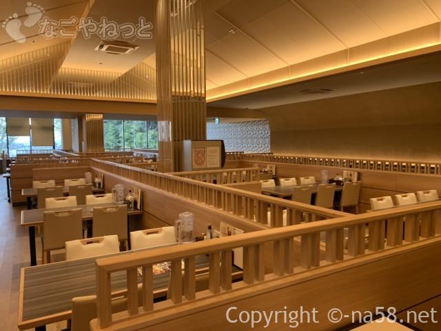 天空スパヒル・龍泉寺の湯名古屋守山本店、食事処「一休」の店内