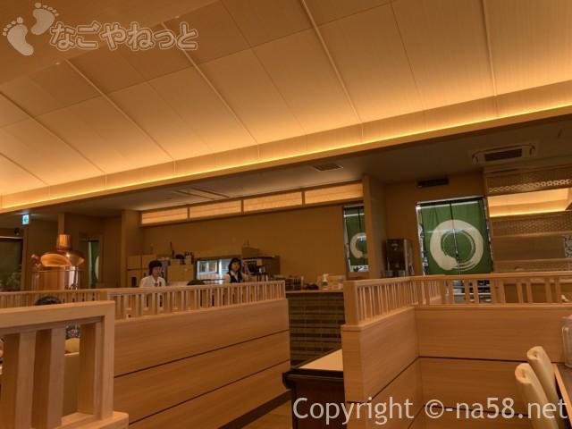天空スパヒル・龍泉寺の湯名古屋守山本店、食事処「一休」店内