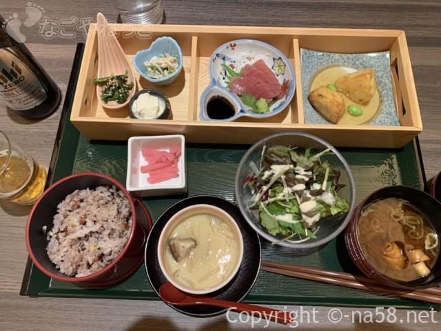 天空スパヒル・龍泉寺の湯名古屋守山本店、食事処「一休」すこやか膳