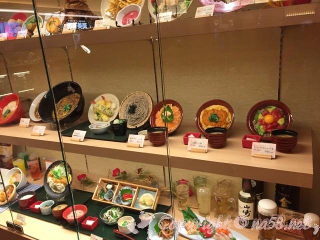 竜泉寺の湯 名古屋守山本店、食事処「一休」の食事サンプル