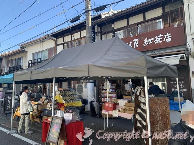 覚王山日泰寺の縁日 弘法さんの日21日 出店露店