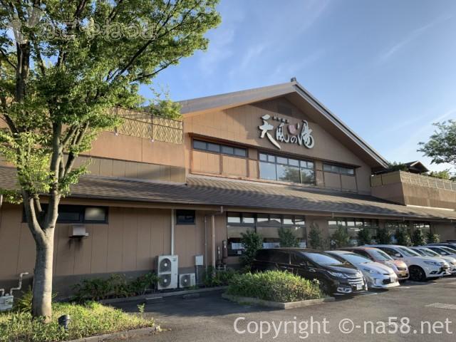 松竹温泉天風の湯(天然温泉・江南市)駐車場