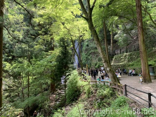 養老の滝(岐阜県養老郡養老町)全景