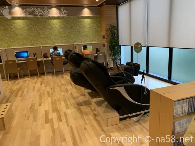 アーバンクアの設備、3階リビングゾーン、リクライニング椅子電動