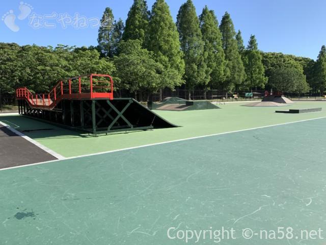 庄内緑地公園(名古屋市西区)のスケートパーク