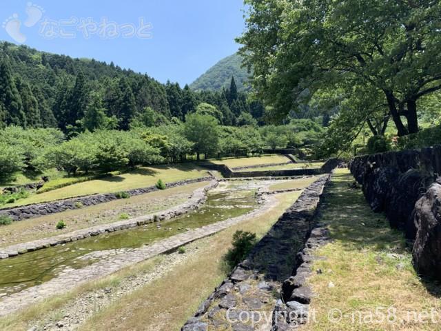 岐阜県海津市「羽根谷だんだん公園」さぼう遊学館付近の川