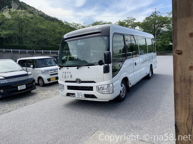 南濃温泉「水晶の湯」の無料シャトルバス