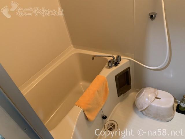 熱海のコンドミニアムホテル「グランビュー熱海」お風呂場