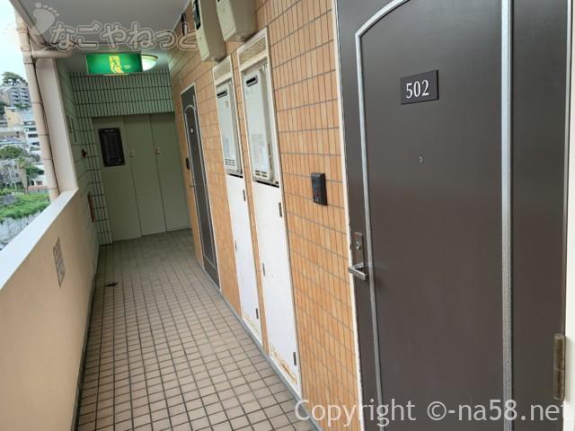 熱海のコンドミニアムホテル「グランビュー熱海」各部屋入り口