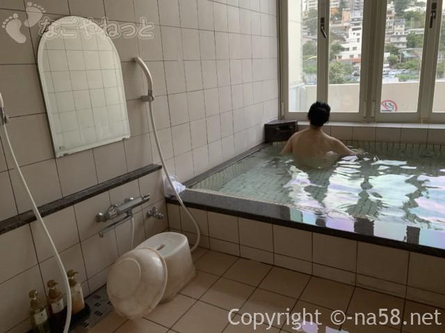 熱海のコンドミニアムホテル「グランビュー熱海」の貸切温泉