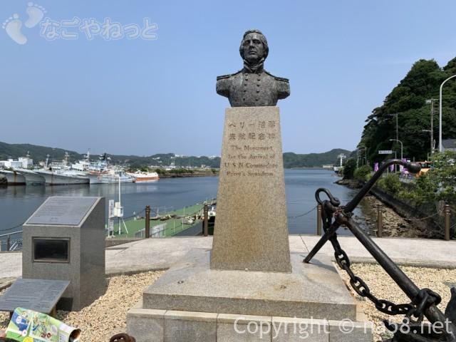 ペリー艦隊来航記念碑(静岡県下田市)