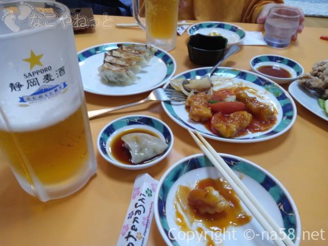 駿河健康ランド(静岡県静岡市)の中国料理店