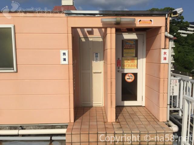 熱海のコンドミニアムホテル「グランビュー熱海」の男女別屋上露天風呂