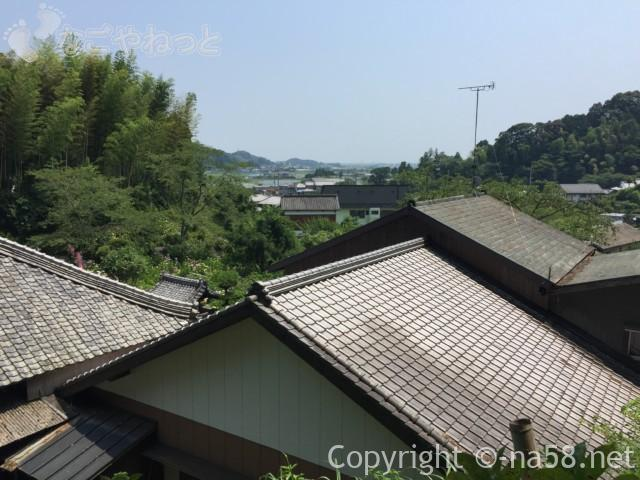 実谷山極楽寺(静岡県森町)裏山からの景色