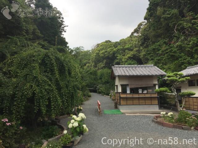 龍尾神社(静岡県掛川市)の受付