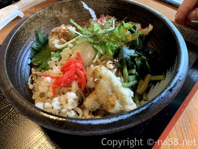 静岡県牧之原市「大鐘家」の食事処そば処門膳で「茶ずけんおろし」