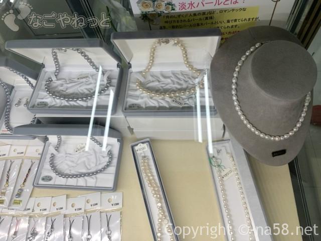 道の駅「伊勢志摩」物産館(三重県志摩市)真珠売り場