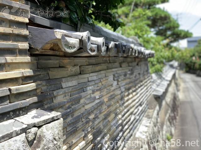 大慈寺(だいじじ)志摩のあじさい寺(三重県志摩市)の塀