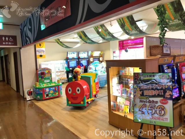 香流(かなれ)温泉喜多の湯(名古屋市守山区)ゲームコーナー