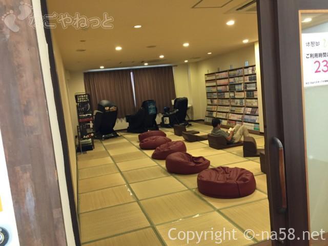 天然温泉・多気の湯(三重県多気町)の湯上り休憩室
