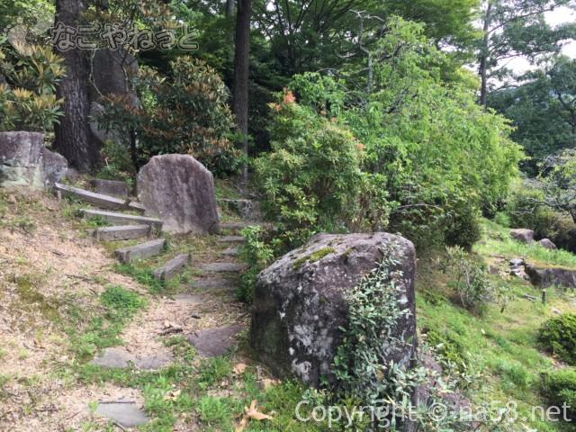 「木の館豊寿庵」(三重県伊賀市)の散策路
