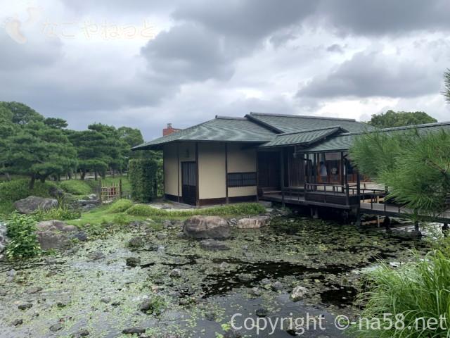「白鳥庭園」(名古屋市熱田区)の数寄屋造り建築の「清羽亭」