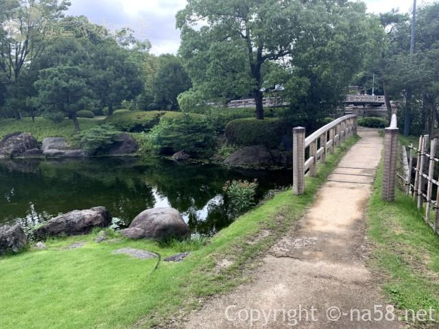 「白鳥庭園」(名古屋市熱田区)園内風景