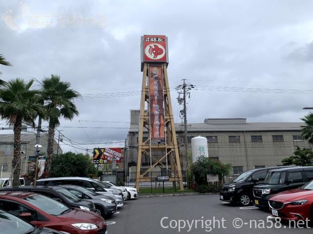 キャナルリゾート(名古屋市中川区)の駐車場