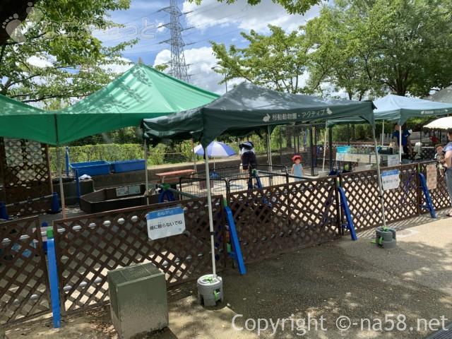 「オアシスパーク」(岐阜県各務原市)有料、動物ふれあい