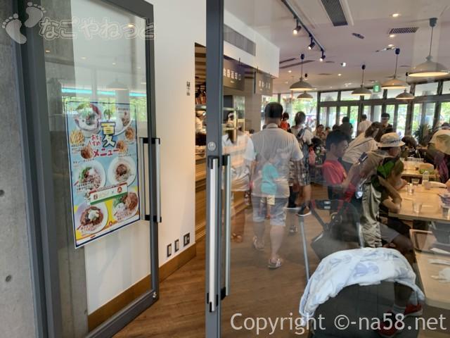 「アクアトト岐阜」一階にあるレストラン
