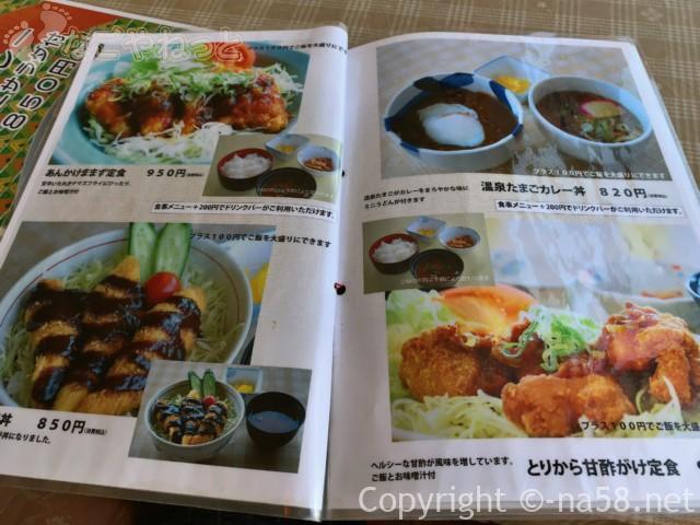 Mamaz  Cafe ままずカフェ(岐阜県海津市)のなまず料理メニュー