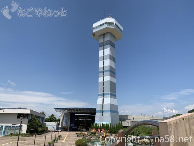 「水と緑の館(展望タワー)」岐阜県海津市、木曽三川公園センター
