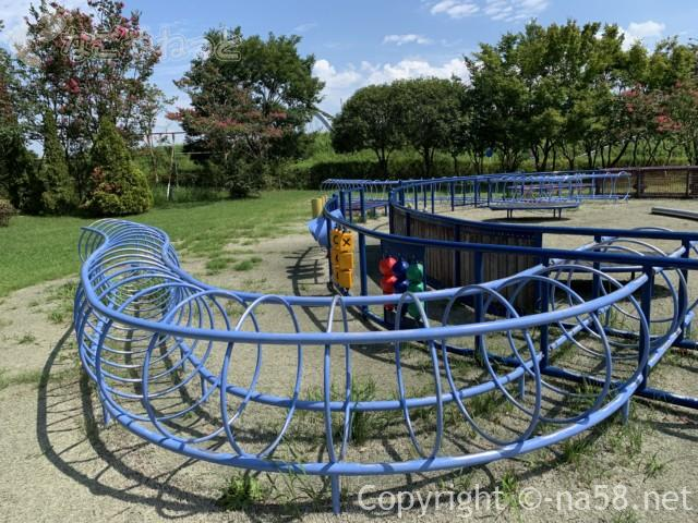 木曽三川公園センター(岐阜県海津市)北ゾーンのままず遊具