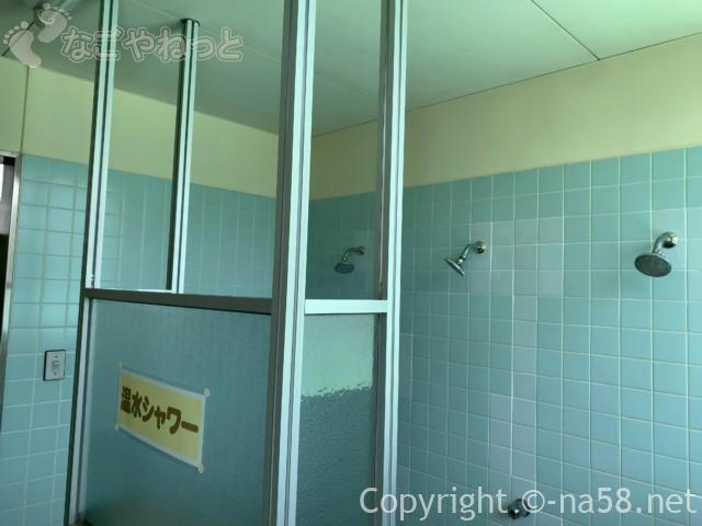 岐阜県こどもの国のプール(岐阜県養老郡養老町)の温水シャワー