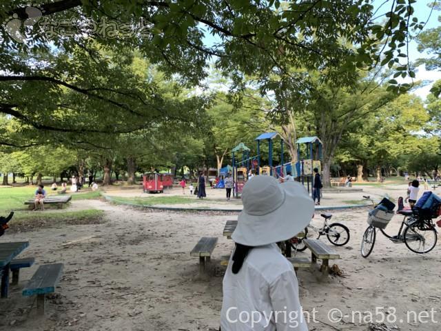 庄内緑地公園(名古屋市西区)のわんぱく広場