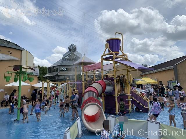 「オアシスパーク」岐阜県各務原市、水遊び場わんぱくフィールド