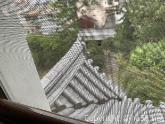 大垣城(岐阜県大垣市)四階最上階からの景色