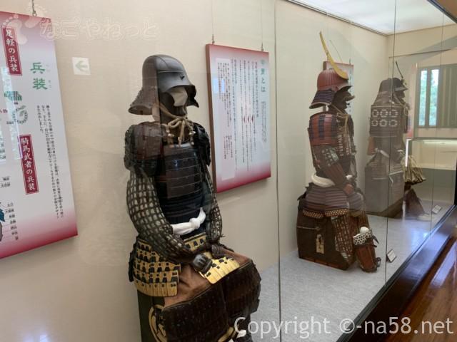 大垣城(岐阜県大垣市)の展示品甲冑など