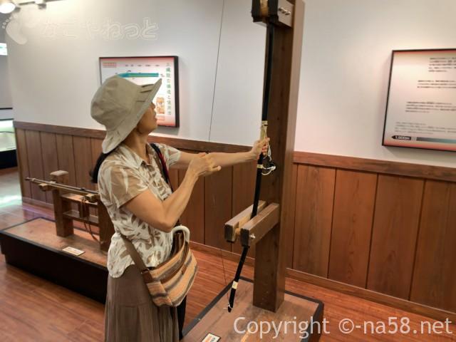 大垣城(岐阜県大垣市)体験用の弓