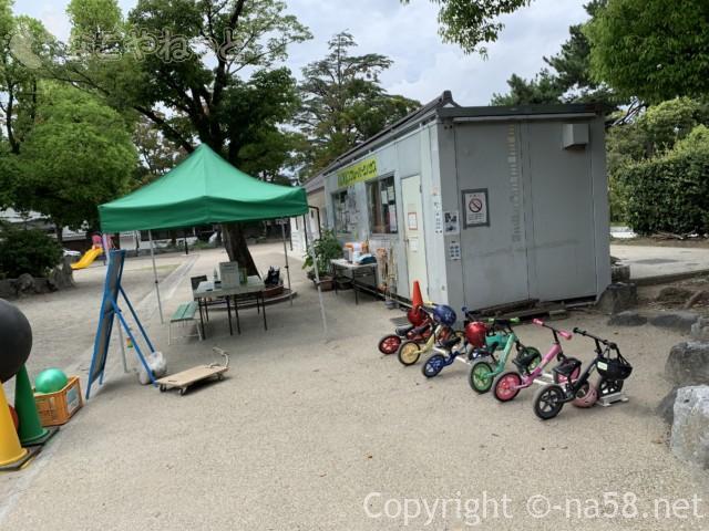 大垣公園(岐阜県大垣市)の無料貸し出し遊具