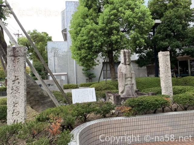 城下町大垣観光・四季の路の散策、大垣藩校敬教堂跡
