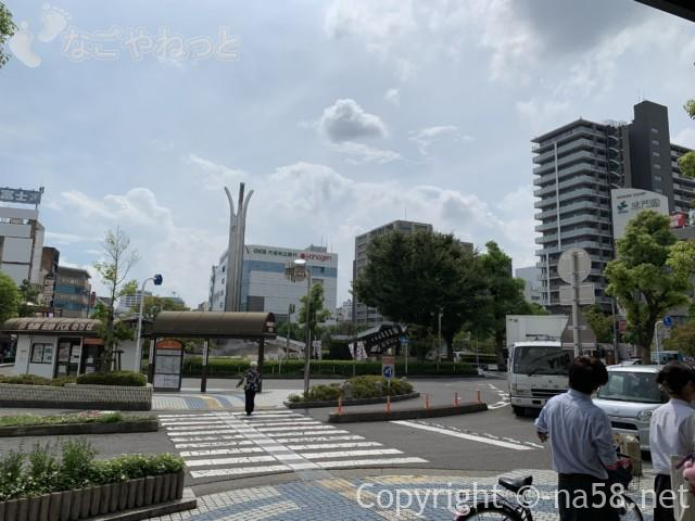 大垣駅の南側景色