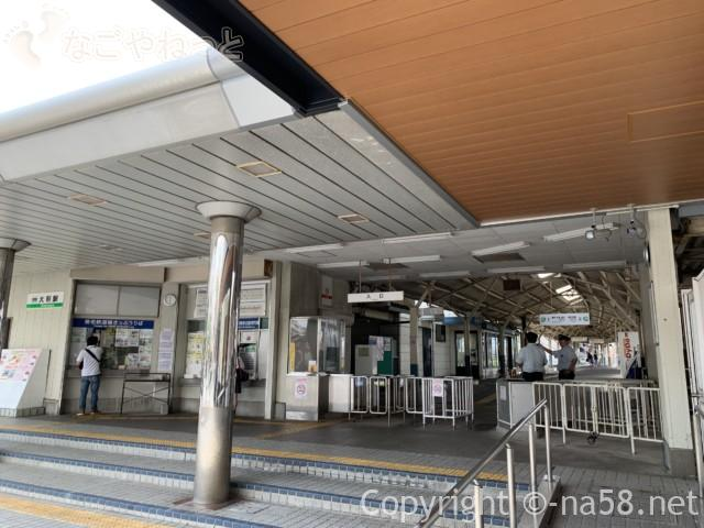 大垣駅、養老鉄道の乗り場