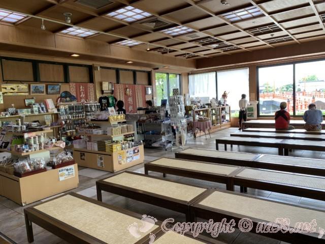 「清州ふるさとのやかた」愛知県清須市、施設内の様子