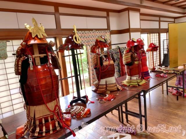 「芸能文化館」で甲冑や打掛の試着も(愛知県清須市)