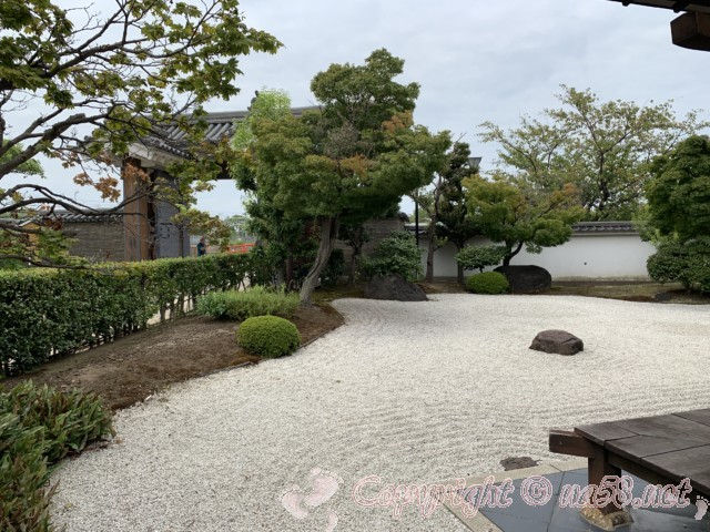 清州城の庭(愛知県清須市)